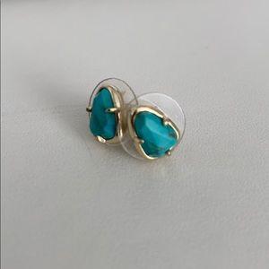 Kendra Scott Real Turquoise Earrings